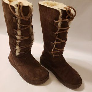 Whitely UGG Tall Brown Suede Boots
